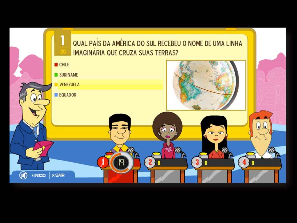 Aplicativo em LG SmartTV para criação de  Quizzes com multimídia (áudio e vídeo)  para serem disputados por até 4 jogadores.